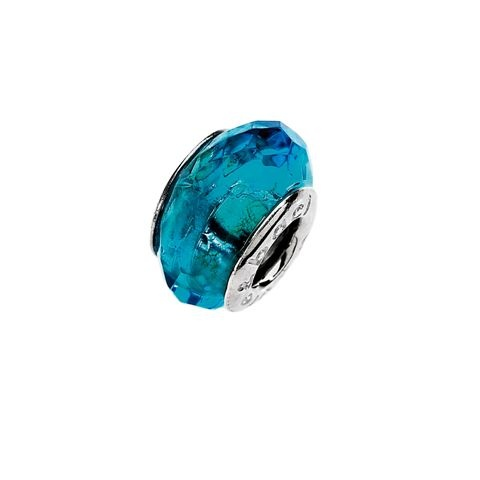 Amore & Baci 2A004 turquoise faceted crystal bead