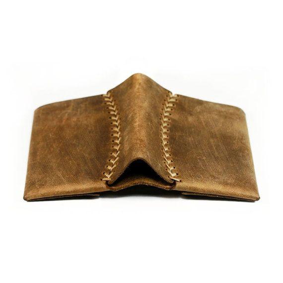 Handmade Leather Wallet Women wallet and Men wallet by AtelierPall