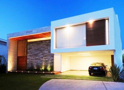 casa-modernas azulzinho da parede