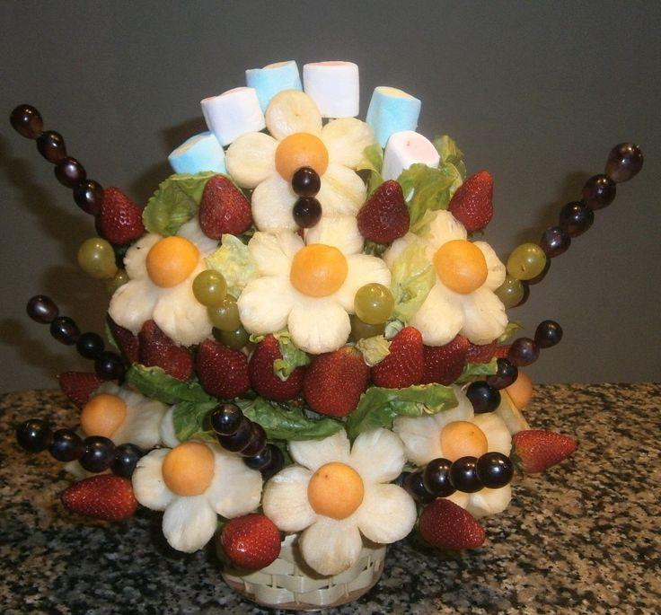 150 best images about centros de mesa con frutas on pinterest - Centros de mesa con pinas ...