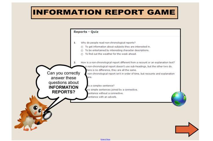Custom report writing language features