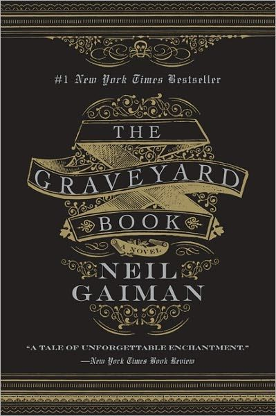 The Graveyard Book by Neil Gaiman | #YA | After the grisly murder of his entire family, a toddler wanders into a graveyard where the ghosts and other supernatural residents agree to raise him as one of their own.