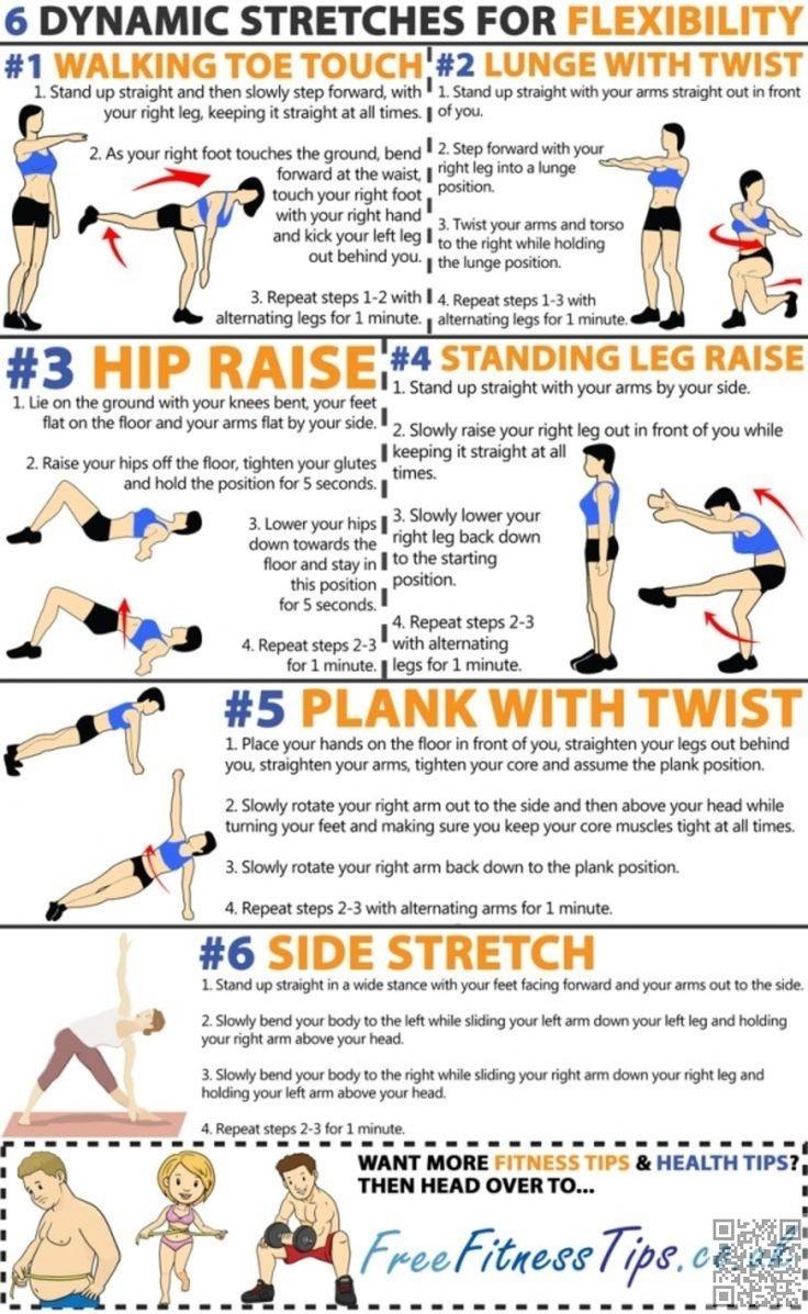 7. #super étendues - 19 #meilleur exercice #infographie pour votre #corps parfait... → #Fitness