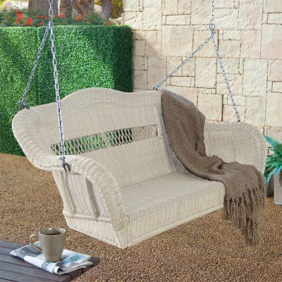victorian porch glider | ... Porch Swing Almond Cwr152 Porch Swings Resin Wicker Porch Swings Porch