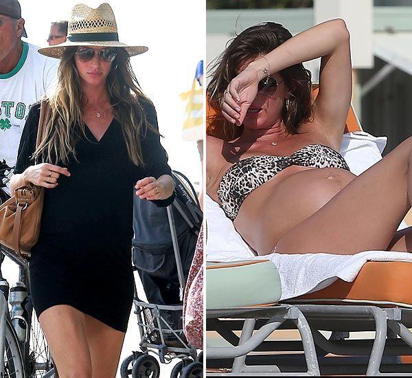Gisele Bündchen luce embarazada en bikini en las playas de Miami   – mis intereses