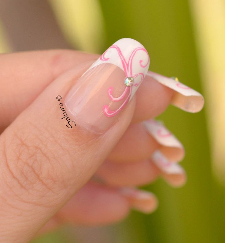French Nail Art: 1000+ Ideas About French Nail Art On Pinterest