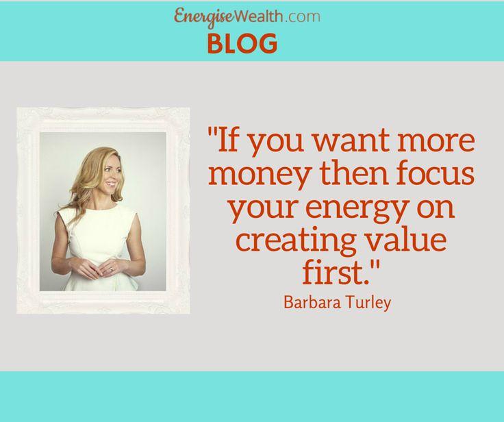 How to make money?  Learn from the money guru, Barbara Turley.  Read her blog here: http://bit.ly/QDGhpc  #energisewealth #womeninbiz #womenentrepreneurs #womeninbusiness #womenandmoney