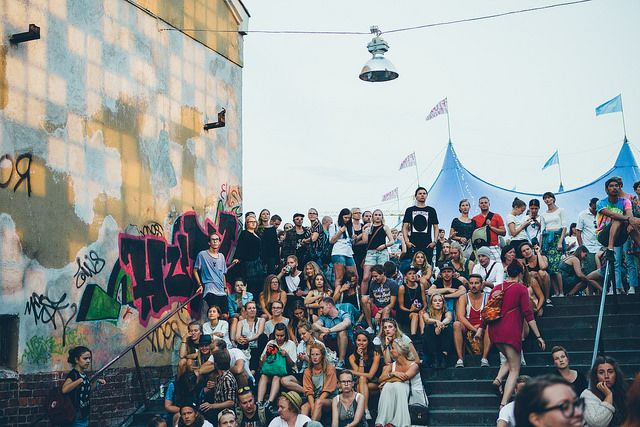 Flow Festival 2014 by Samuli Pentti.