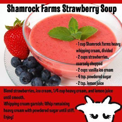 Strawberry Soup | Shamrock Farms