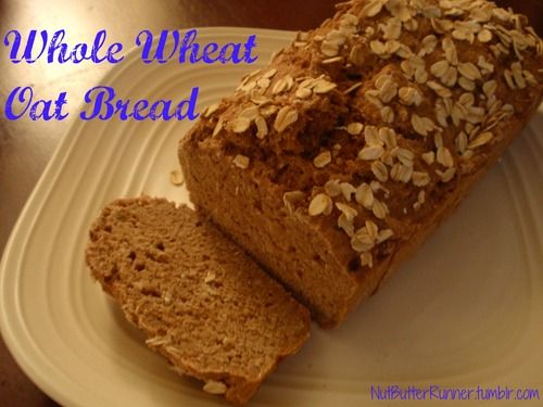 Simple Homemade Whole Wheat Oat Bread #recipe made with PureAlmond