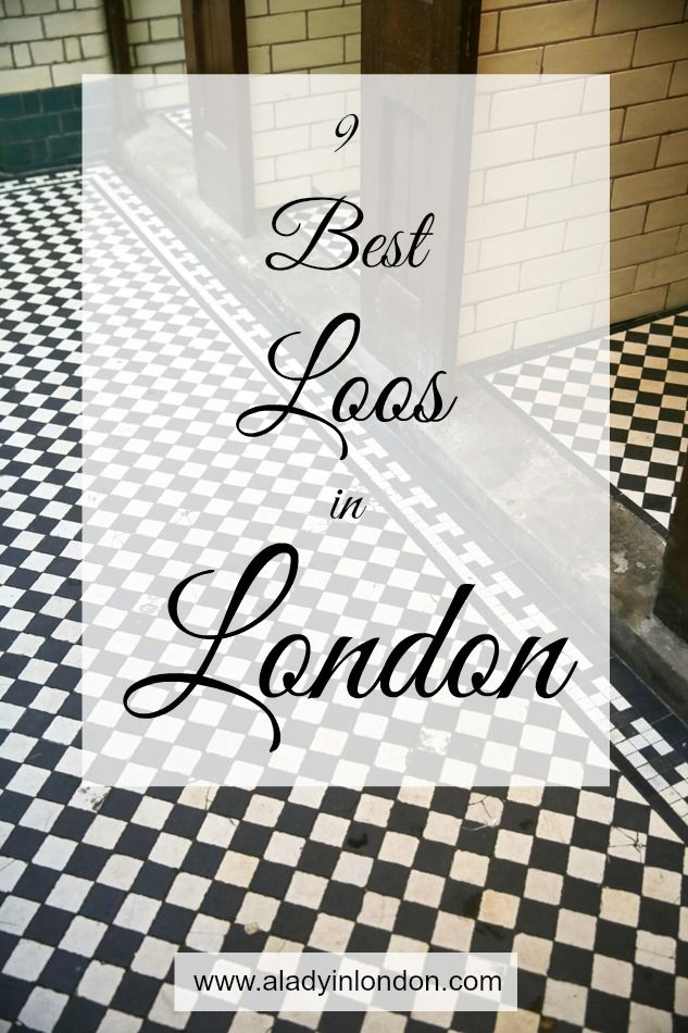 The 9 Best Loos in London! From restaurants to cafes and everything in between, these loos are worth a trip!
