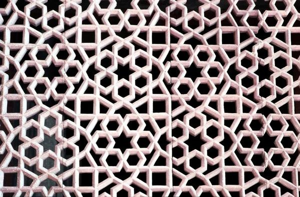 Squares and hexagons.  islamic pattern