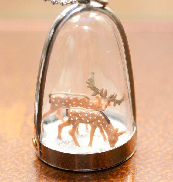 Deer Diorama
