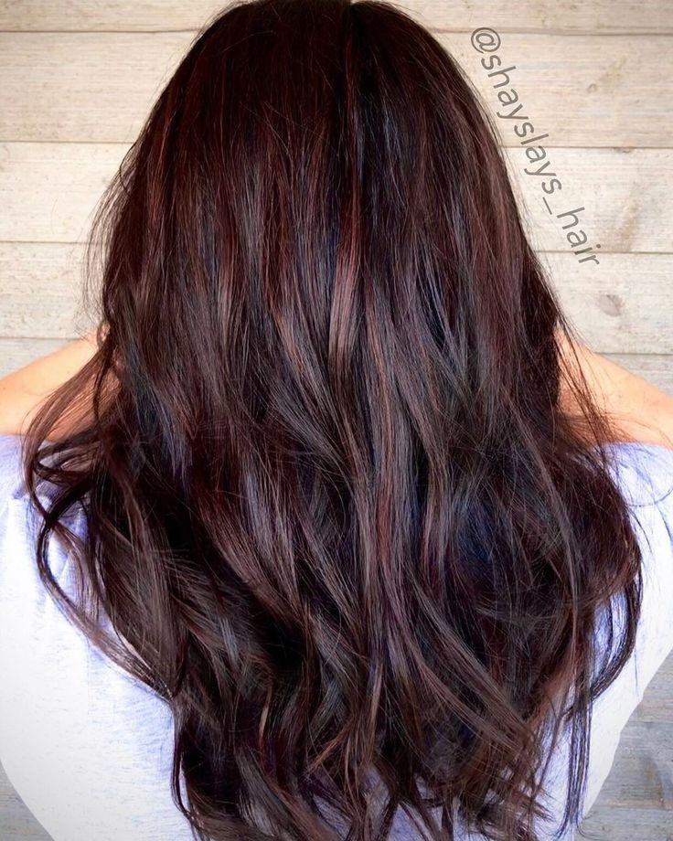 50+ Mahogany Hair Color Ideas with Various Shades & Highlights | Hair color mahogany, Mahogany hair, Brunette hair color