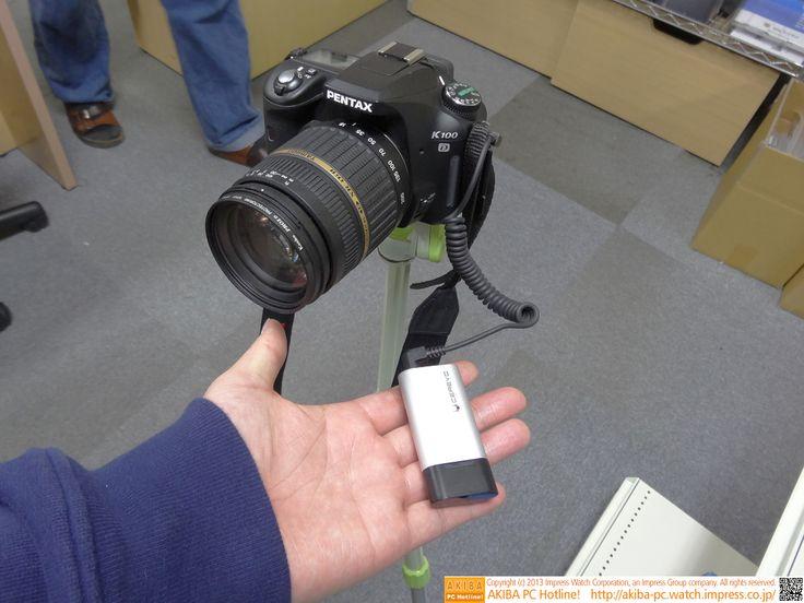 [画像] iPhoneでシャッター操作ができるデジタル一眼向けアダプタが登場