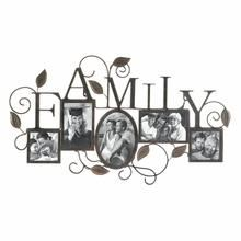 5-Photo Family Wall Frame