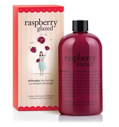 Raspberry Glazed Bubble Bath Shampoo And Shower Gel