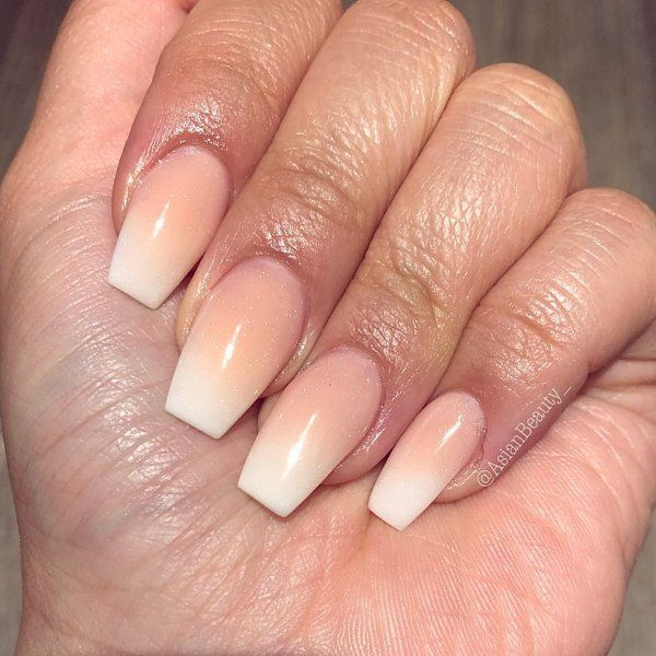 Good Blend Of Peach Ombre Nails Ombrenails Ombrenailart Nailart Naildesigns Summernails Ombre Nail Art Designs Ombre Nails Peach Nails