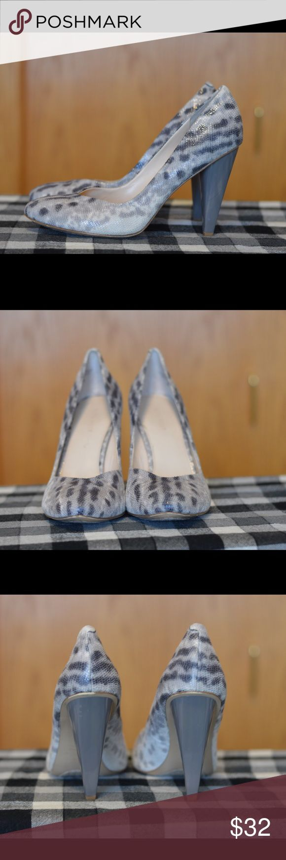 Snake pattern pumps from Nine West Almost new. Nine West. Snake print pumps. Nine West Shoes Heels