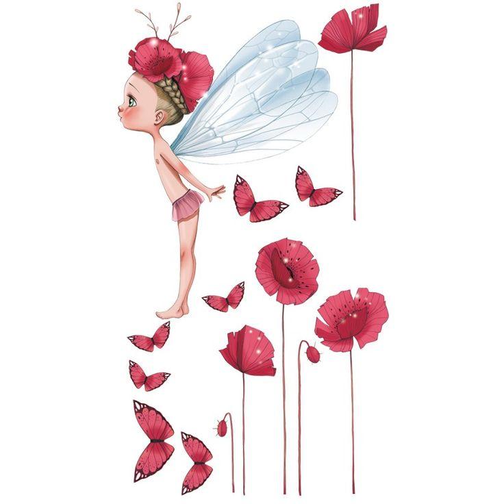 Une merveilleuse petite fée pour décorer son univers ! Découvrez le stickers Petite fée Célestine créé par l'illustratrice de talent Emmanuelle Colin.Délai de livraison 8 jours.