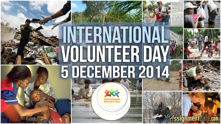"""People's Participation. Make change happen, volunteer!  """"On this International Volunteer Day, let us be inspired by the many individuals who selflessly serve others, and let us resolve to do our part to contribute, freely and proactively, to change conditions now towards a better future for all.""""  #volunteer #InternationalVolunteerDay #volunteerday #IVD #volunteering #volunteerism @MyAssignmenthelp.com"""