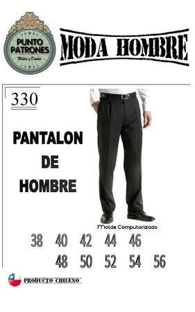 Vestuario Hombre :: Puntopatrones