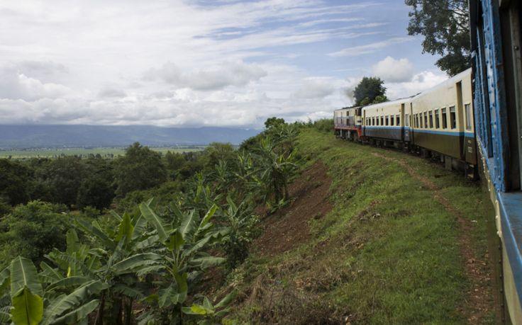 Envie de prendre le train en Birmanie ? je vous fais découvrir mon expérience dans le train entre le Lac Inle (Shwe Nyaung) et Kalaw en pays Shan.