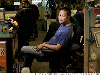 Tony Hsieh - perhaps my most inspiring kindred spirit: Las Vegas, Spend Big, The Office, Big Bucks, 350 Million Startups, Trade Shoes, Tony Hsieh, Kindred Spirit, Ceo Tony