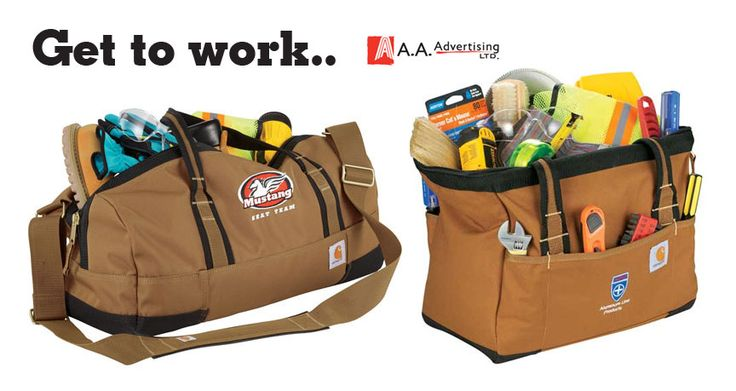 Carhartt® Signature Work Bags from AAAdvertising.com