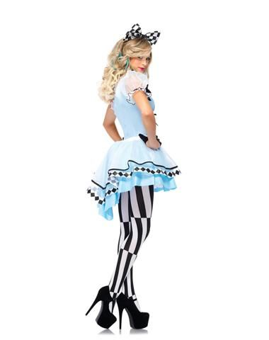 Psychedelic Alice Adult Womens Costume