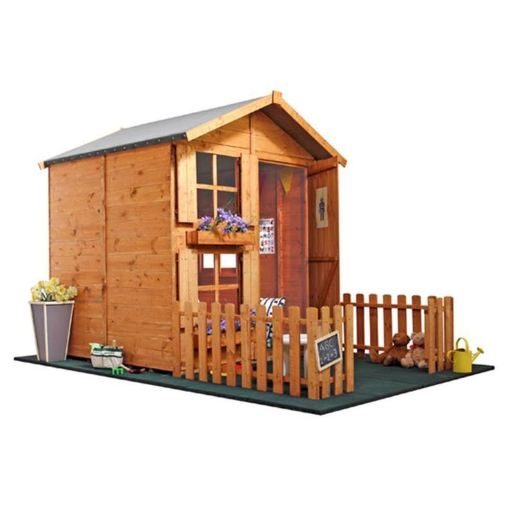 Buy a The BillyOh Mad Dash 4000 Peardrop Playhouse Collection from Garden Buildings Direct