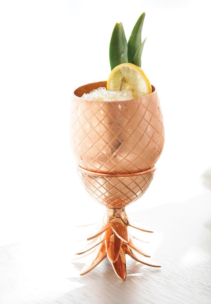 The Copper Pineapple Cocktail That's Taking the World by Storm via @domainehome