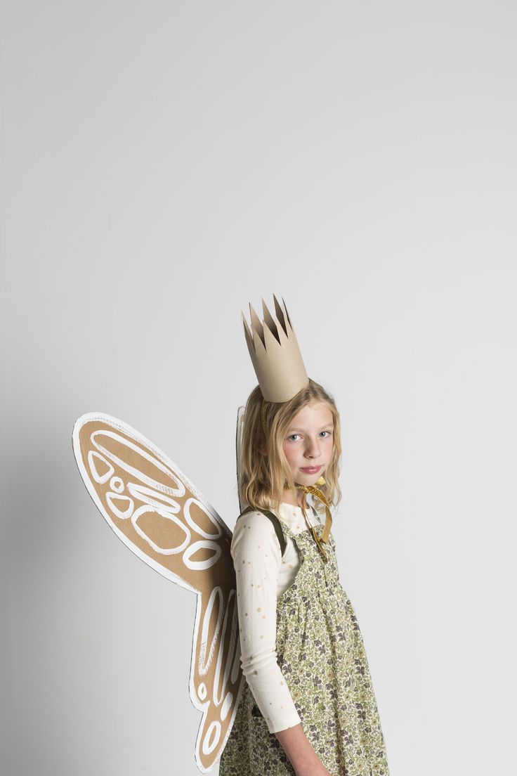Mer Mag: Make these simple garden fairy Halloween Costumes with Kids 21