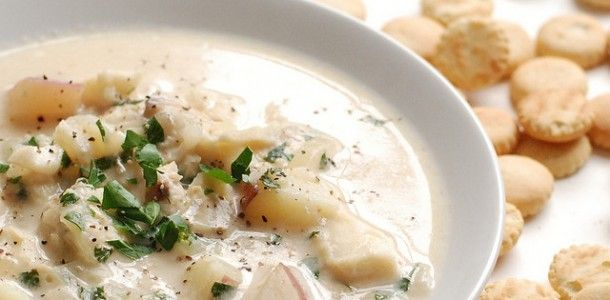 49 best cr ck p t images on pinterest recipes rezepte for Fish chowder slow cooker