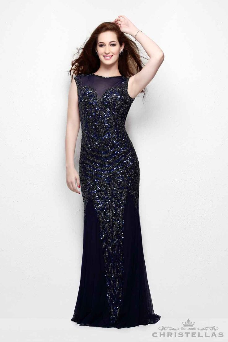 A fashion forward design perfect for ladies with confidence! Primavera  Couture 1472 Dress / $399