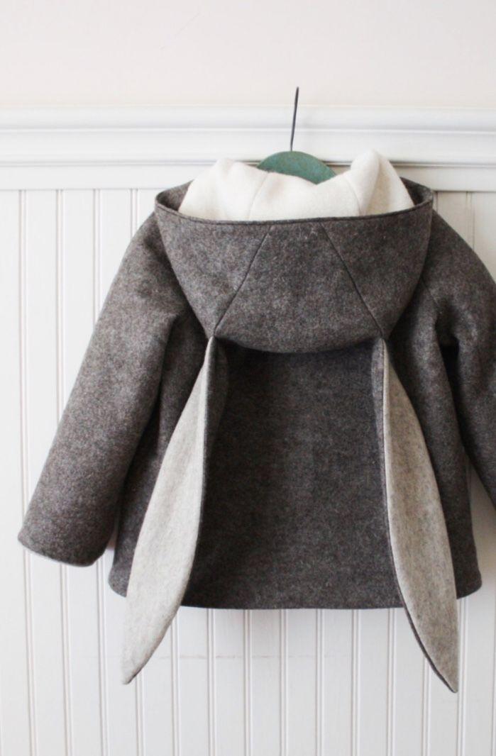 Handmade Bunny Coat | littlegoodall on Etsy