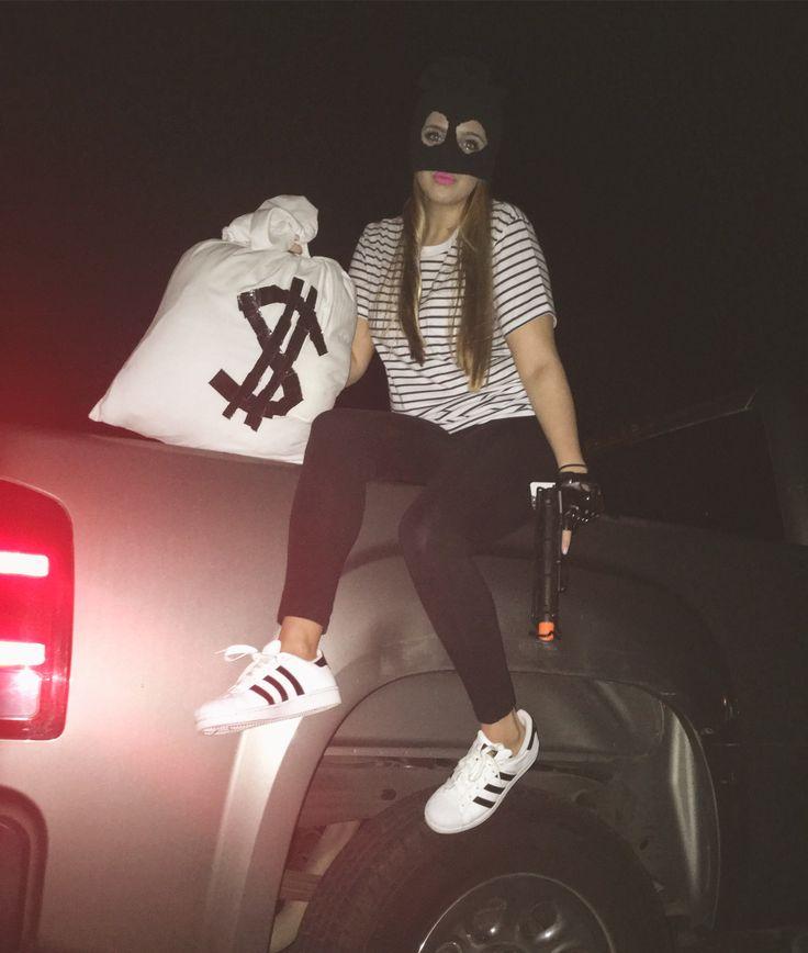 cute Burglar/Thief costume. #burglar