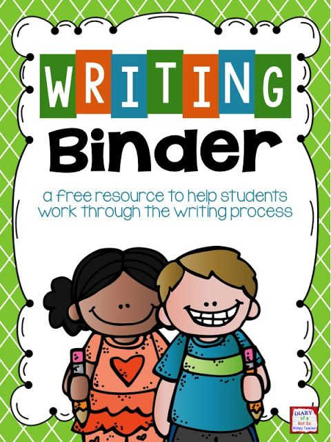 Say goodbye to writing folders, and hello to writing binders!  Read the post to see how to use these to organize writing and guide children through the writing process, and pick up blacklines for the cover & dividers for free!