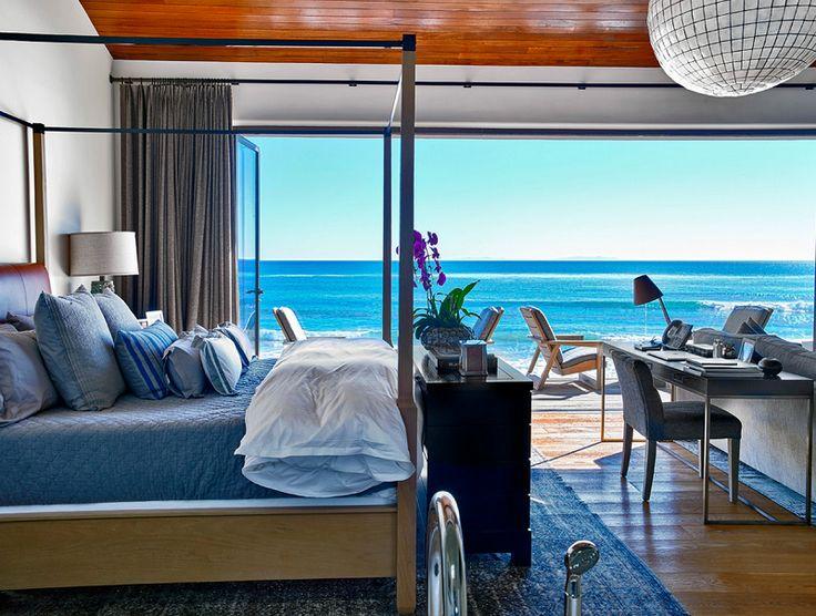Tropical Bedroom Interior Design in Los Angeles