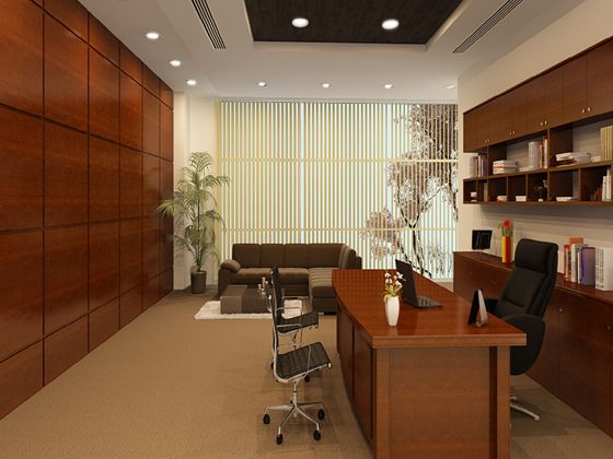 Personal cabin area altitude design modern office for How to decorate my office cabin