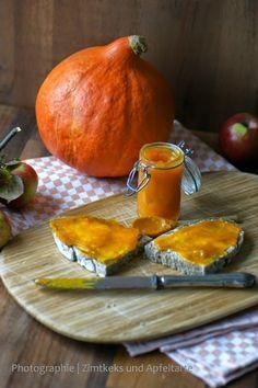 Kürbis-Marmelade mit Ingwer... oder: wie komme ich zu meinem Kürbis? - Zimtkeks und Apfeltarte