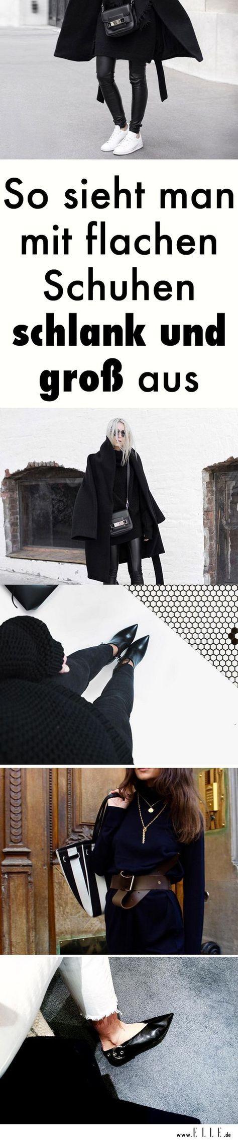 4 Tricks, wie man mit flachen Schuhen schlank und groß aussieht – Dominika Cimochowska