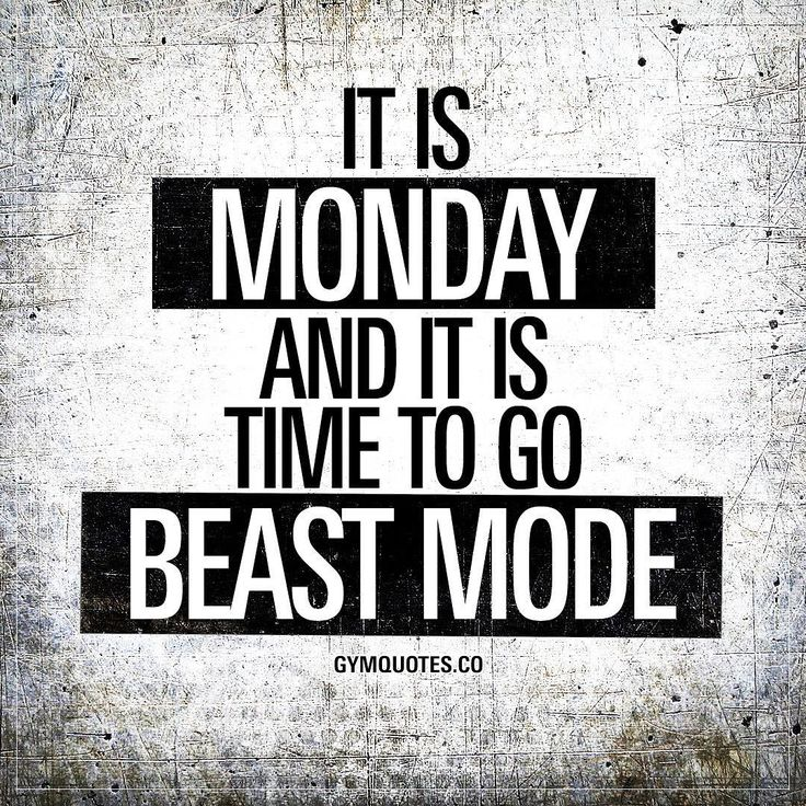 """21 Likes, 2 Comments - Gym Quotes Workout Motivation (@gymquotes.co) on Instagram: """"It is #Monday and it is time to go #beastmode  #happymonday folks! Have a good one today """""""