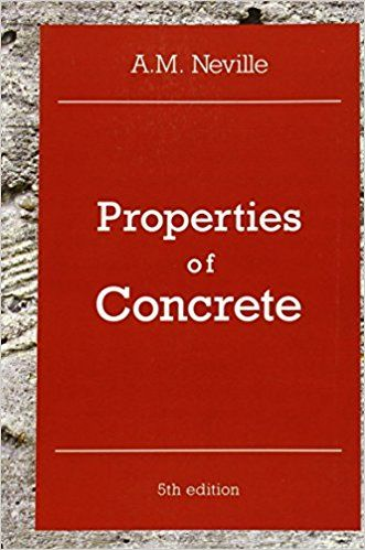 Properties of Concrete 5th Edition