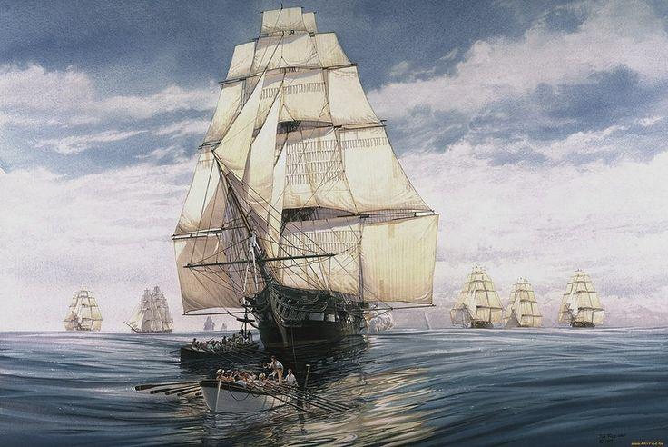 Отличная подборка парусных кораблей. Обсуждение на LiveInternet - Российский Сервис Онлайн-Дневников