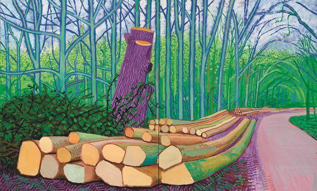 Hockney, Picasso, Tinguely en meer...     Hoogtepunten uit de Kunstsammlung Würth in Het Noord Brabants Museum t/m 17 mei 2015
