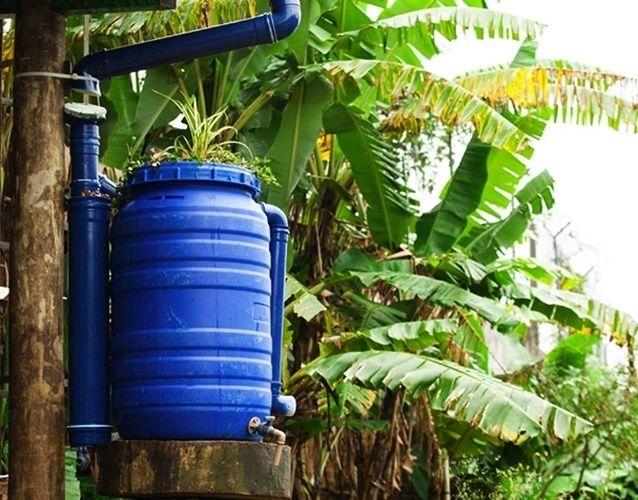Veja como construir uma cisterna caseira para captação da água de chuva - Casa e Decoração - UOL Mulher