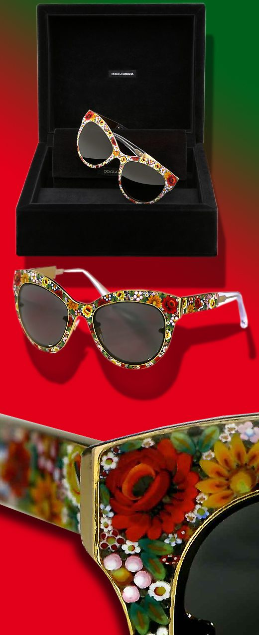 Dolce  Gabbana - Can't handle the complete beautiful awesomeness of these sunnies!
