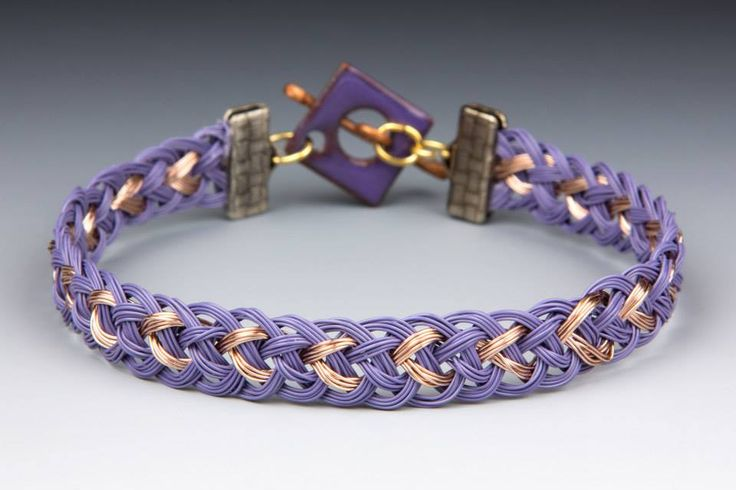Kumihimo With Wire - Simple Bracelet, not so simple - Jill Wiseman