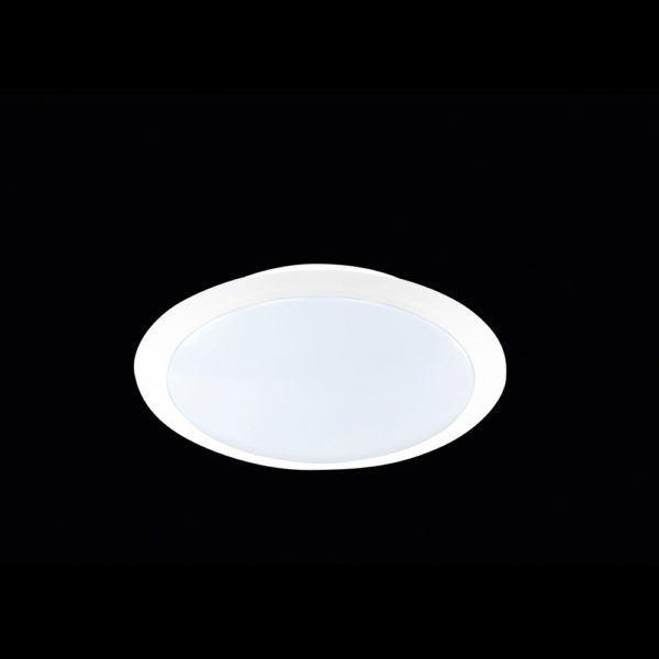 LED-Deckenleuchte in weiß für das Bad - Smart-Light#led#led_leuchten - deckenlampen für badezimmer